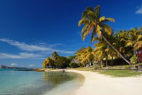 Playa en Isla Mauricio