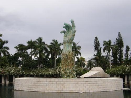 Holocaust Memorial en Miami Beach