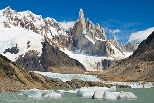 El Chaltén en la Patagonia