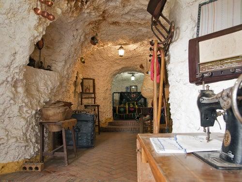 Cueva en el barrio de Sacromonte