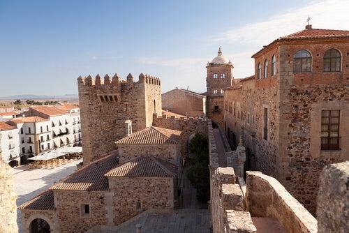 Torre de Bujaco en Cáceres
