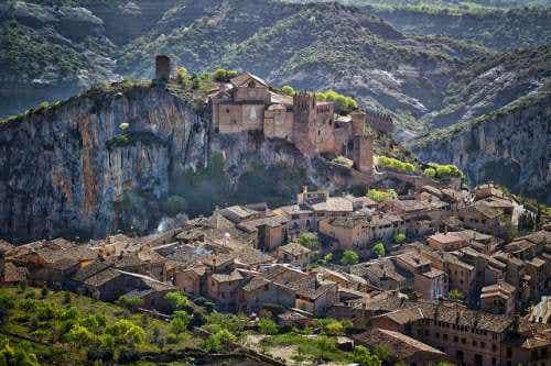 Alquézar en Huesca, una localidad con historia