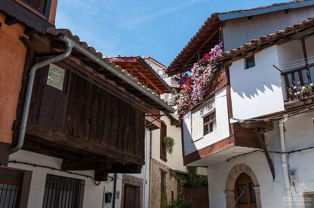 Arquitectura tipica de la comarca de la Vera