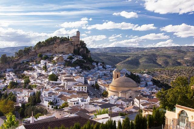 Vista de Montefrío, uno de los pueblos de Granada más bonitos