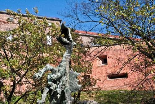 Dragón de Wawel en Cracovia