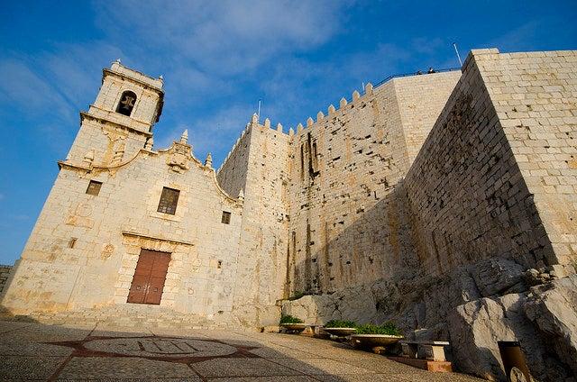 Iglesia y castillo de Peñíscola