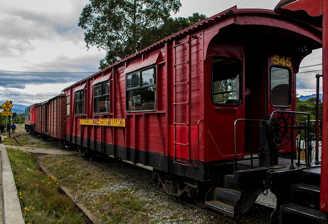 Tren crucero de Ecuador