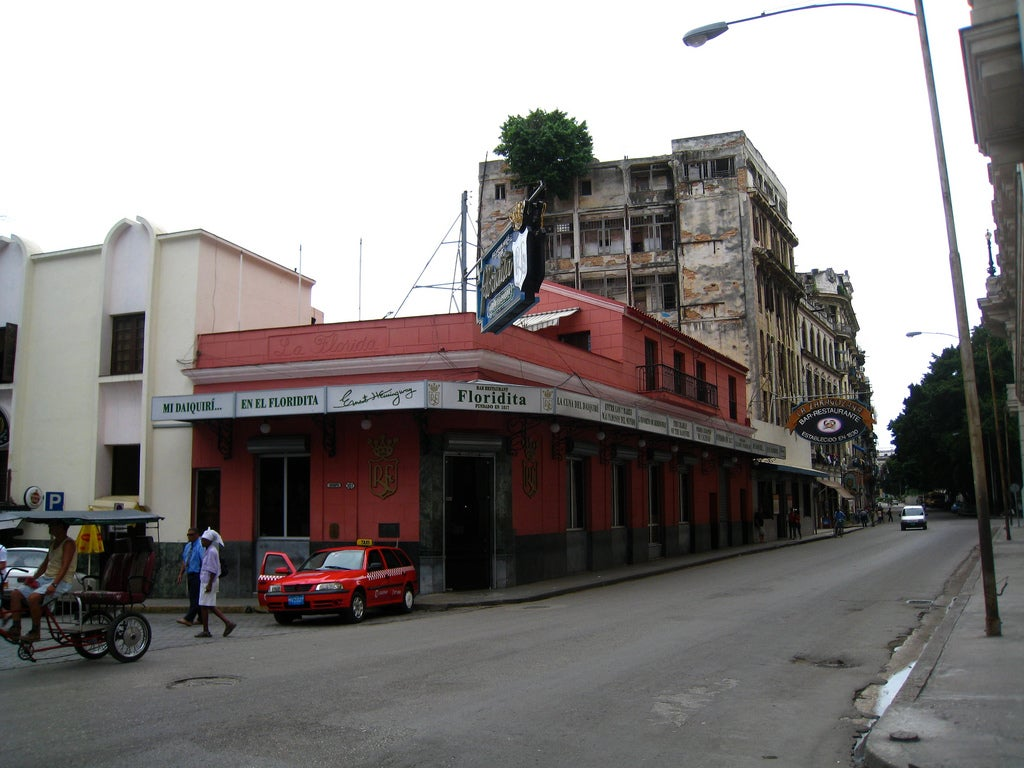 El Floridita en La Habana