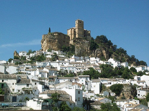 Iglesia y fortaleza de Montefrío