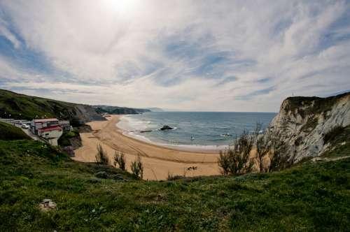 Las playas de Sopelana en el País Vasco, encuentro con la naturaleza