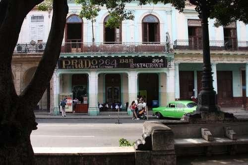 Restaurante Prado 264 en La Habana