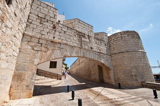 Puerta de entrada a Peñiscola