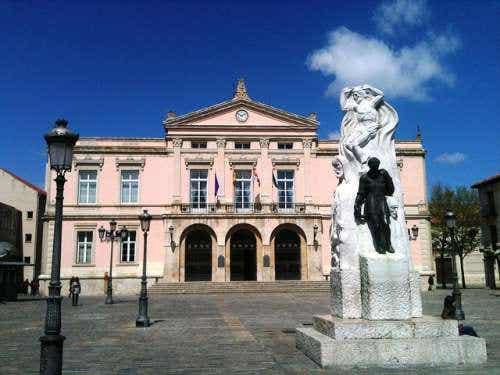 Un día de sol en la ciudad de Palencia