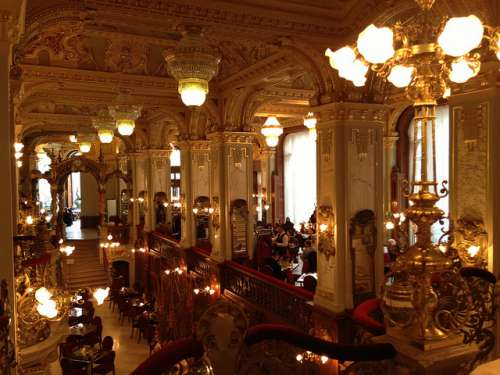 Café New York en Budapest