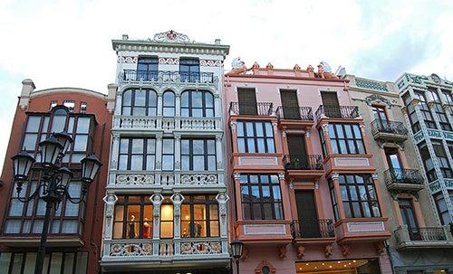 Edificios modernistas en Zamora