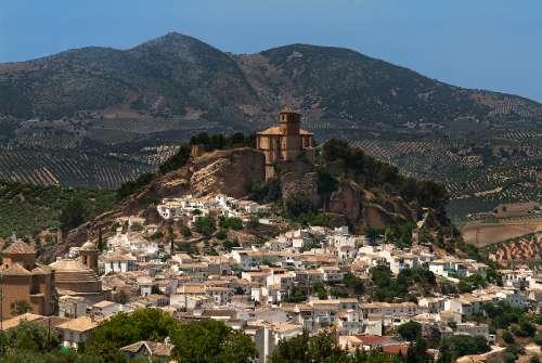 Vista de Montefrío