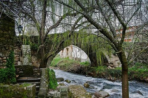 Puente románico de Hervás