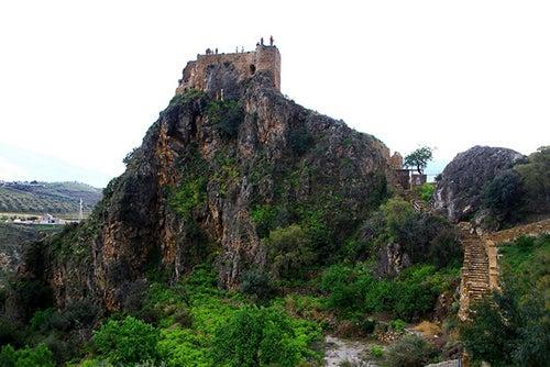 Restos medievales en Las Alpujarras
