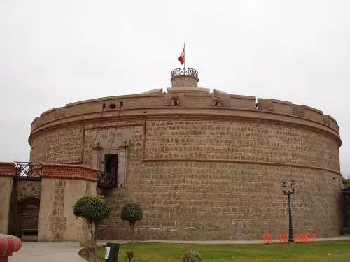 Fortaleza Real Felipe en Callao.