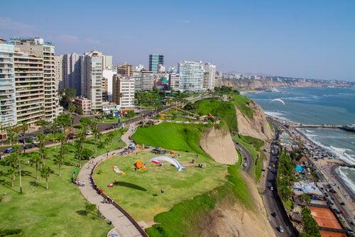 Lima en Perú.