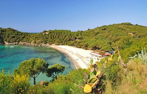 Playa en Elba