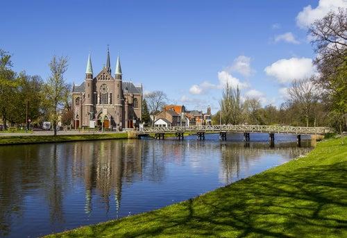 Alkmaar en Holanda