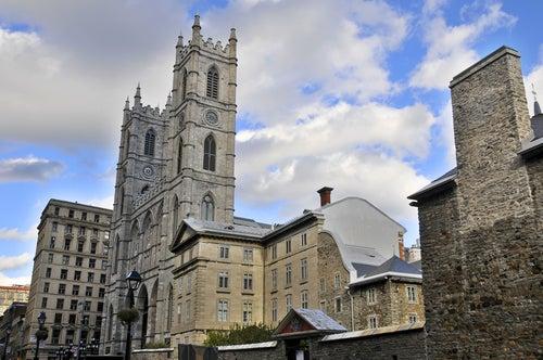 Basílica de Notre Dame en Vieux Montreal