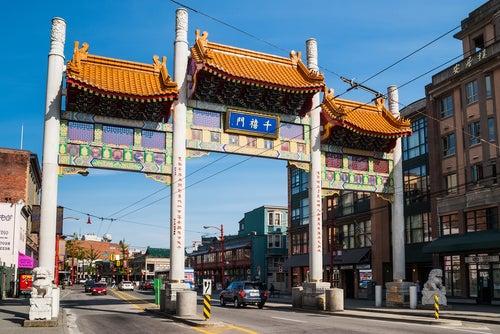 Chinatown en Vancouver
