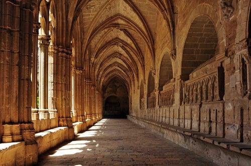 Claustro del Monasterio cisterciese de Santes Creus