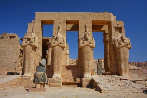 Ramesseum en Egipto