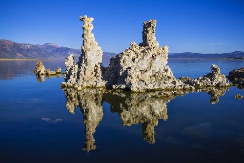 El curioso lago Mono en los Estados Unidos