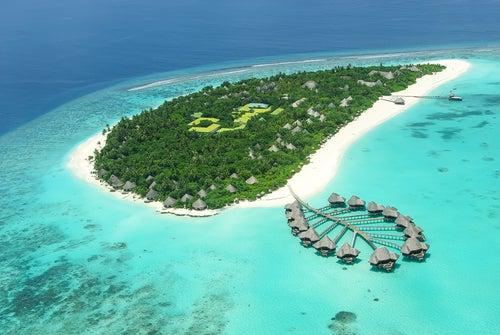 Isla en las Maldivas