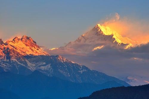 Vista del Kachenjunga