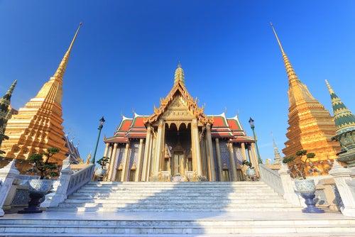 Panteón Real en Gran Palacio de Bangkok