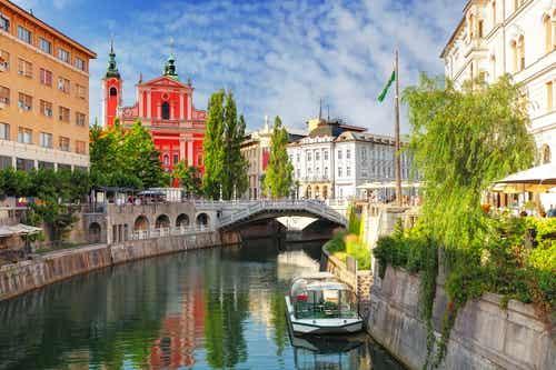 Liubliana, la capital de Eslovenia y su belleza tranquila