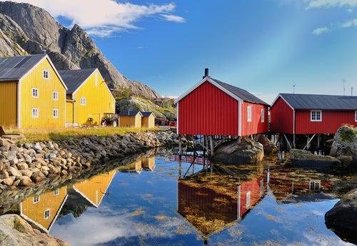 Nusfjord en islas Lofoten
