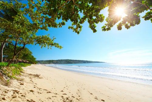 Playa Jimbaran en Bali