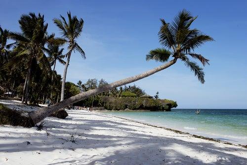 Playa de Kenia