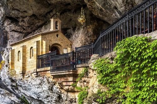Santuario de Covadonga en Asturias