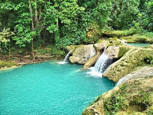 Blue Hole en Jamaica