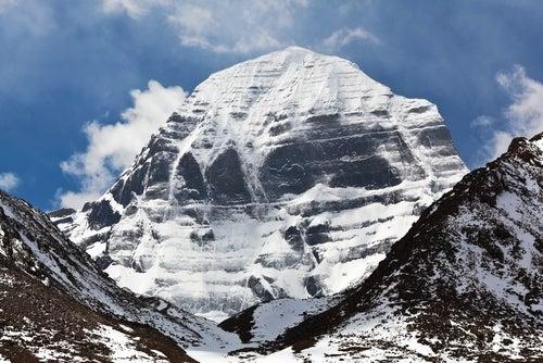 Vista del monte Kailash