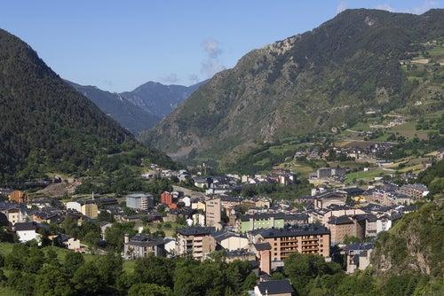 Vista de Andorra