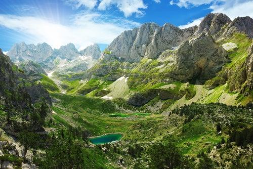 Alpes en Albania