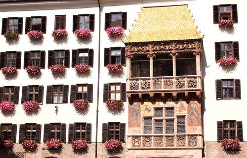 Tejado dorado en Innsbruck