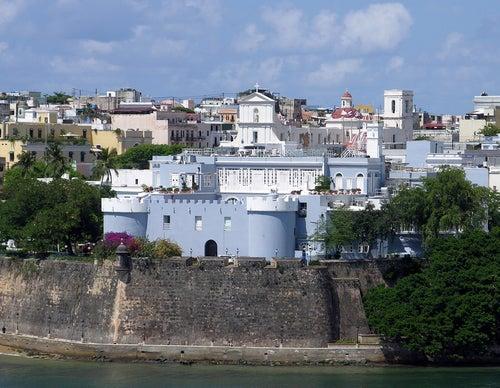 Palacio de Santa Catalina en Viejo San Juan