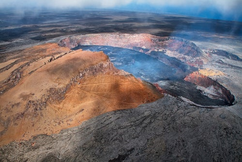 Kilauea en el PArque Nacional de los Volcanes