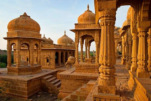 Jaisalmer en la India