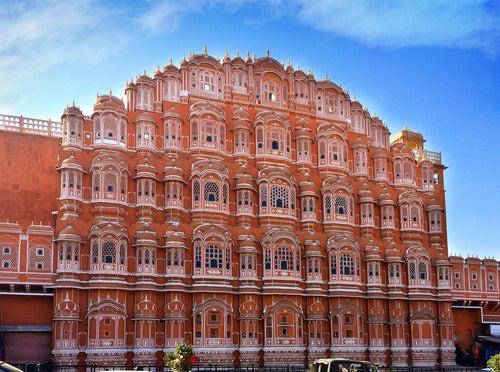 Hawa Majal en Jaipur en la India