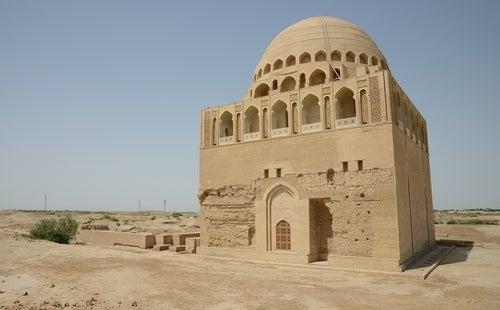 Mezquita en Merv en Turkmenistán