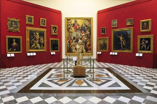 Galería Ufizzi en Florencia